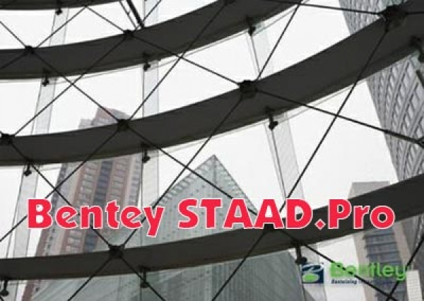 Bentey STAAD.Pro SS6 v8i 20.07.11.82